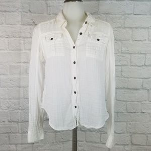 We the Free People Small Top White